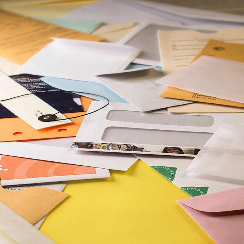 Custom Envelope Size Manufacturing